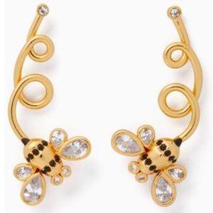Kate Spade ♠️ NWOT Bee Picnic Perfect Earrings